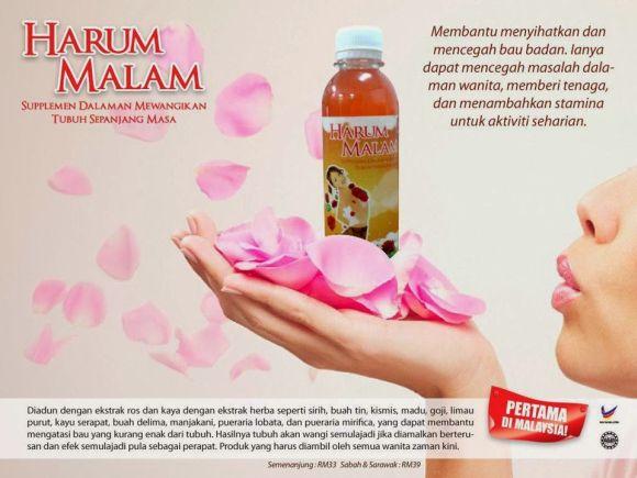 Post image for Harum Malam – Produk Khas Untuk Wanita
